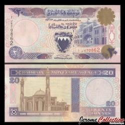 BAHREIN - Billet de 20 Dinar - Bab al-Bahreïn - 1973 P16b