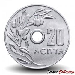 GRECE - PIECE de 20 Lepta - 1971 Km#79