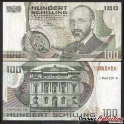 AUTRICHE - Billet de 100 Schillings - Eugen Böhm von Bawerk - 1984 P150a