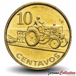 MOZAMBIQUE - PIÈCE de 10 Centavos - Tracteur - 2006 Km#134