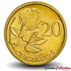 MOZAMBIQUE - PIÈCE de 20 Centavos - Tige de coton - 2006 Km#135