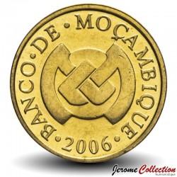 MOZAMBIQUE - PIÈCE de 20 Centavos - Tige de coton - 2006