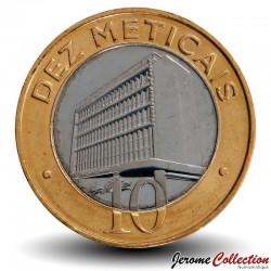 MOZAMBIQUE - PIÈCE de 10 Meticais - Bâtiment de la Banque centrale - 2006 Km#140