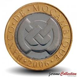MOZAMBIQUE - PIÈCE de 10 Meticais - Bâtiment de la Banque centrale - 2006
