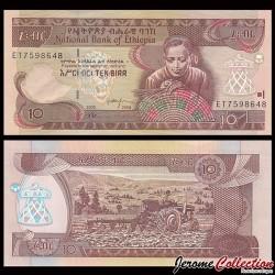 ETHIOPIE - Billet de 10 Birr - 2008 P48e