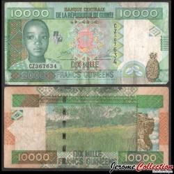GUINEE - Billet de 10000 Francs - 2008 P42b