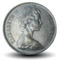 FIDJI - PIECE de 20 Cents - Dent de cachalot - 1975 Km#31