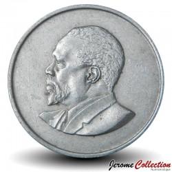 KENYA - PIECE de 50 Cents - Président Jomo Kenyatta - 1968 Km#4