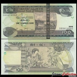ETHIOPIE - Billet de 100 Birr - 2012