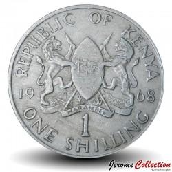 KENYA - PIECE de 1 Shilling - Président Jomo Kenyatta - 1968
