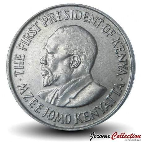 KENYA - PIECE de 50 Cents - Président Jomo Kenyatta - 1978 Km#13
