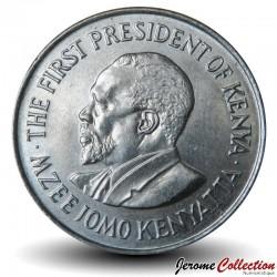 KENYA - PIECE de 1 Shilling - Président Jomo Kenyatta - 1978 Km#14