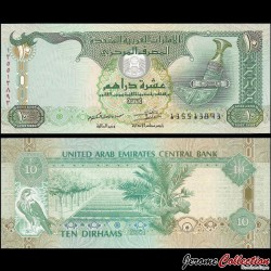 EMIRATS ARABES UNIS - Billet de 10 Dirhams - 2013