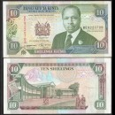 KENYA - Billet de 10 Shillings - 01.01.1994