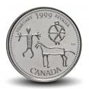 CANADA - PIECE de 25 CENTS - Histoire du Canada - Février - 1999