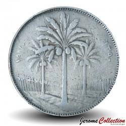 IRAK - PIECE de 100 Fils - Cocotiers - 1970 Km#129