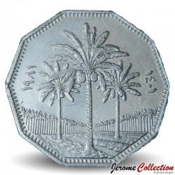 IRAK - PIECE de 1 Dinar - Cocotiers - 1981 Km#170
