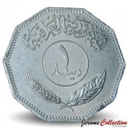 IRAK - PIECE de 1 Dinar - Cocotiers - 1981