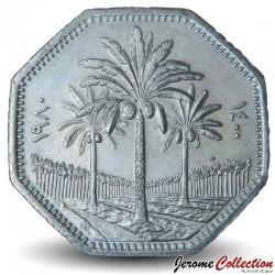 IRAK - PIECE de 250 Fils - Cocotiers - 1980