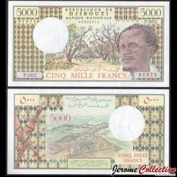 DJIBOUTI - Billet de 5000 Francs - Vue de Djibouti - 2002 P38c