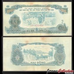 SUD VIETNAM - Billet de 2 Dong - Pecheurs - 1963