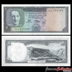 AFGHANISTAN - Billet de 2 Afghanis - Roi Mohammad Zaher Shah - 1948 P28a