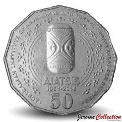 AUSTRALIE - PIECE de 50 Cents - AIATSIS - 2014 Km#2159
