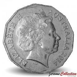 AUSTRALIE - PIECE de 50 Cents - AIATSIS - 2014