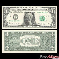 ETATS UNIS - Billet de 1 DOLLAR - 2013 - F(6) Atlanta