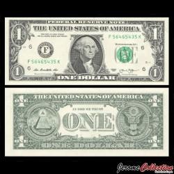 ETATS UNIS / USA - Billet de 1 DOLLAR - 2013 - F(6) Atlanta P537aF