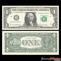ETATS UNIS / USA - Billet de 1 DOLLAR - 2013 - B(2) New York
