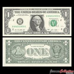 ETATS UNIS / USA - Billet de 1 DOLLAR - 2013 - B(2) New York P537aB - Fw