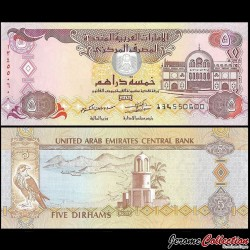 EMIRATS ARABES UNIS - Billet de 5 Dirhams - 2013