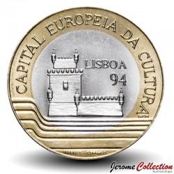 PORTUGAL - PIECE de 200 Escudos - Lisbonne capitale européenne de la culture - 1994 Km#669
