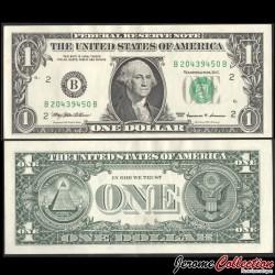 ETATS UNIS / USA - Billet de 1 DOLLAR - E(5) Richmond - 1999