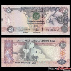 EMIRATS ARABES UNIS - Billet de 50 Dirhams - 2014