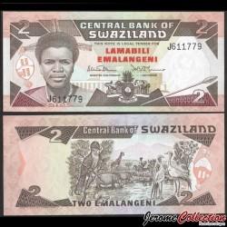 SWAZILAND (Eswatini) - Billet de 1 Lilangeni - 1974