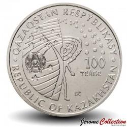 KAZAKHSTAN - PIECE de 100 Tenge - Belka et Strelka - 2020