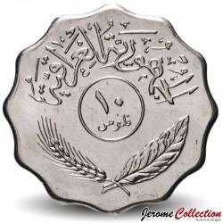 IRAK - PIECE de 10 Fils - Cocotiers - 1981