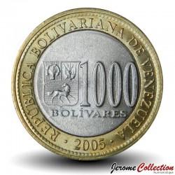 VENEZUELA - PIECE de 1000 Bolívares - 2005 Y#85