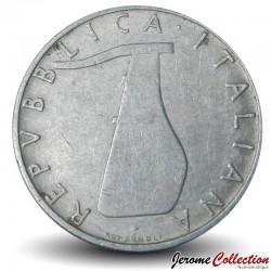 ITALIE - PIECE de 5 Lire - Dauphin - 1954
