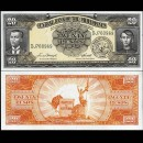 PHILIPPINES - Billet de 20 Piso -Andres Bonifacio & Emilio Jacinto - 1949