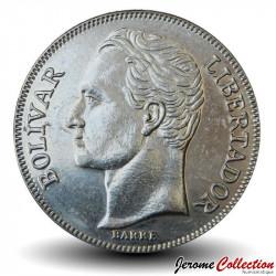 VENEZUELA - PIECE de 5 Bolivars - 1989 Y#53a
