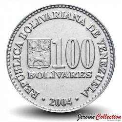 VENEZUELA - PIECE de 100 Bolivars - 2004 Y#83
