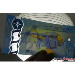 ANTARCTICA - Billet de 1 DOLLAR - Polymer - 2015