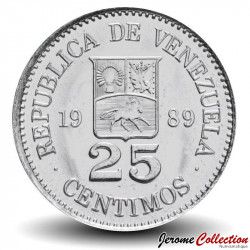 VENEZUELA - PIECE de 50 Centimos - 1990