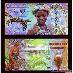 Nederlands-Guinea / Ghana - Billet de 50 Gulden - 2016
