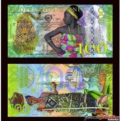 Nederlands-Guinea / Ghana - Billet de 100 Gulden - 2016 0100
