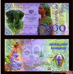 Nederlands-Guinea / Ghana - Billet de 500 Gulden - 2016 0500