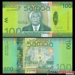 SAMOA - BILLET de 50 Tala - Bâtiment du gouvernement du Samoa - 2017